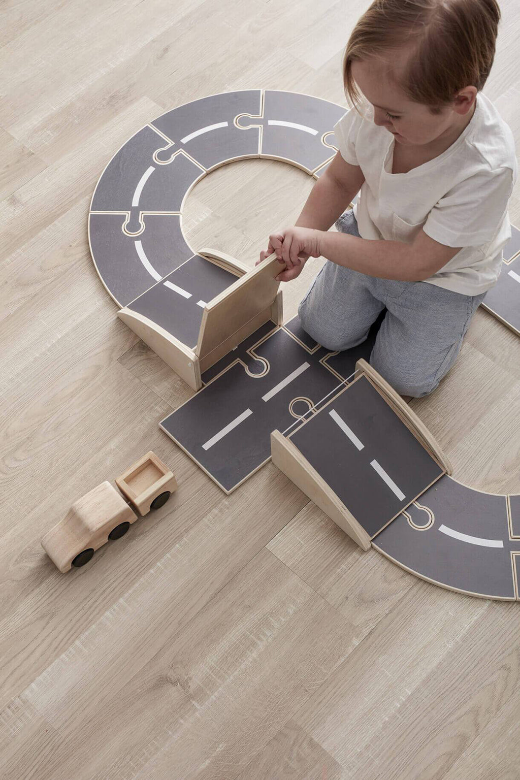 Kids Concept Aiden Wooden Car Track - 4