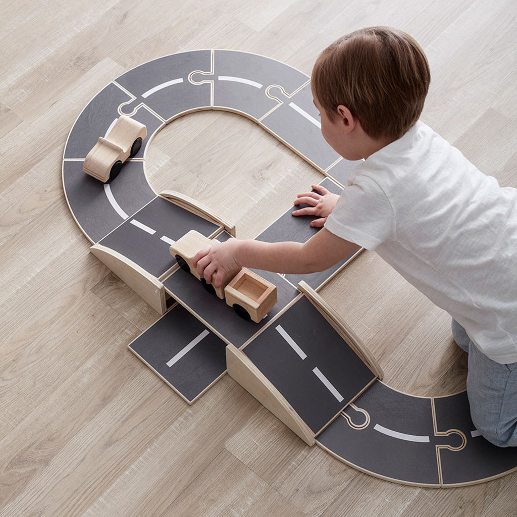 Kids Concept Aiden Wooden Car Track - 3