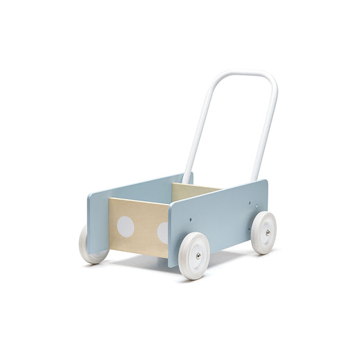 Kids Concept Baby Walker - Blue - 1