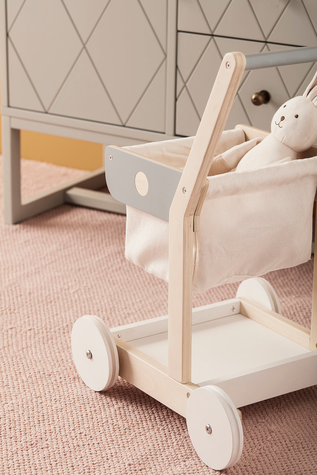 Kids Concept Bistro Shopping Trolley - 4