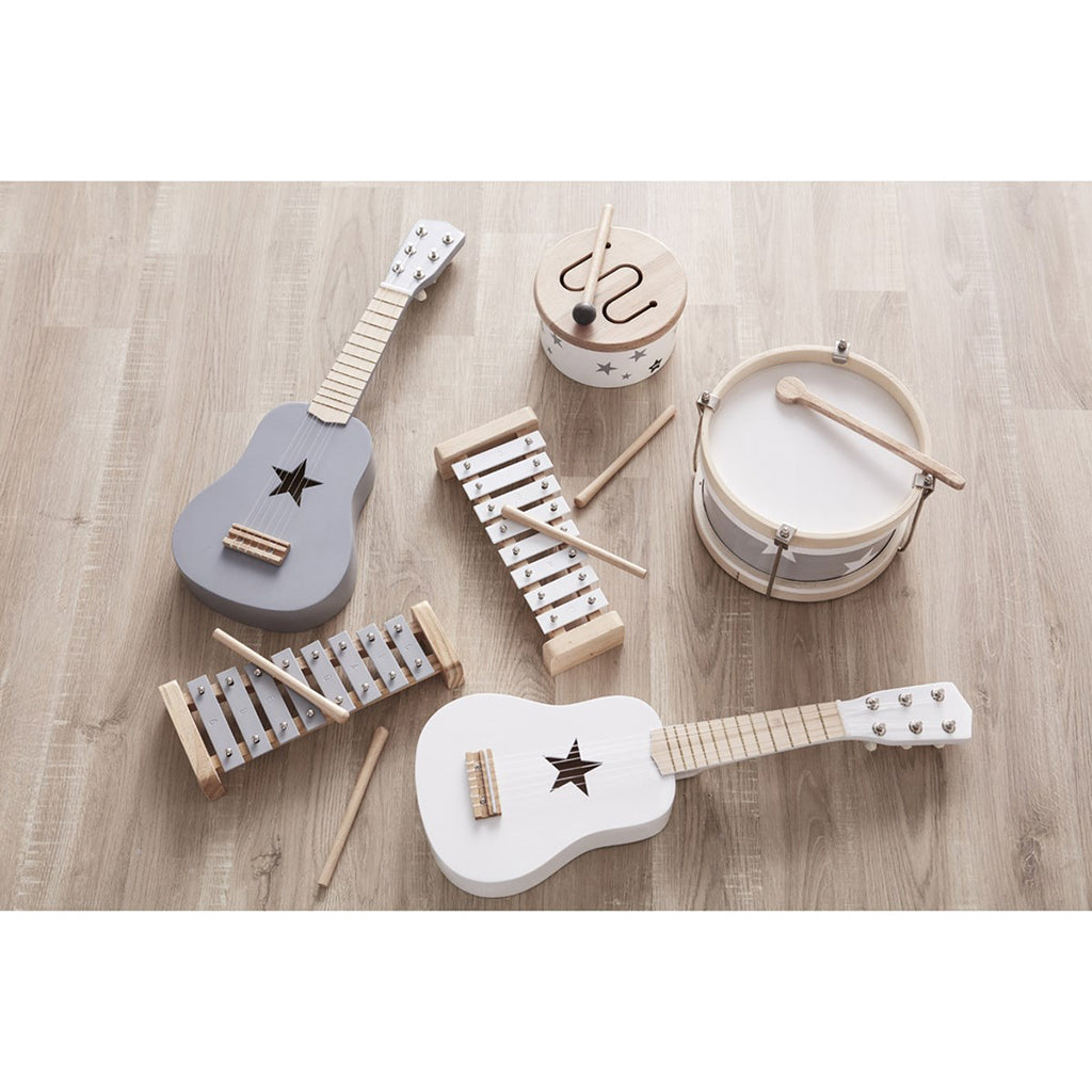 Kids Concept Guitar - White - 5