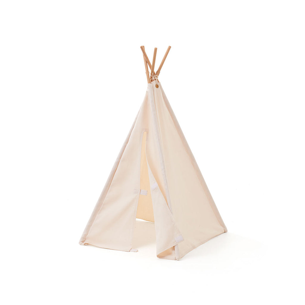 Kids Concept Mini Tipi Tent - Off White - 2