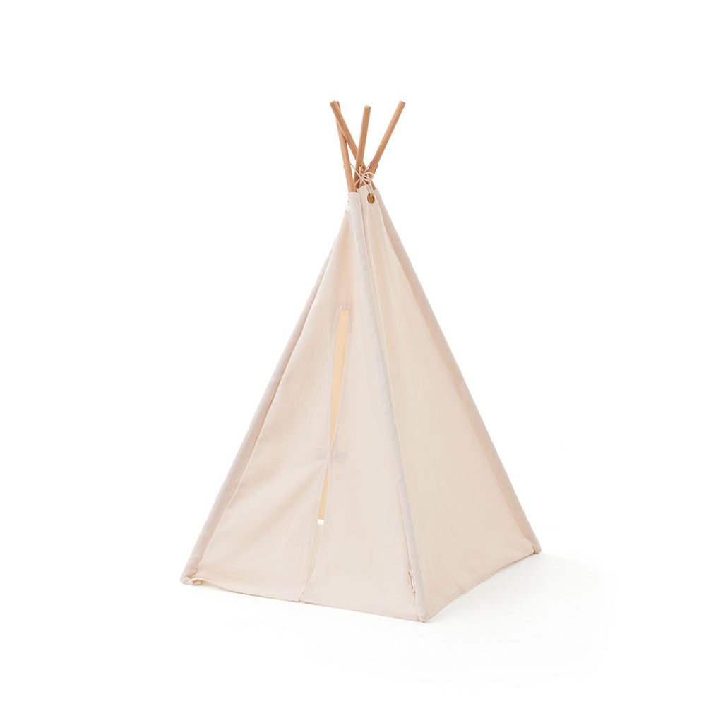 Kids Concept Mini Tipi Tent - Off White - 1
