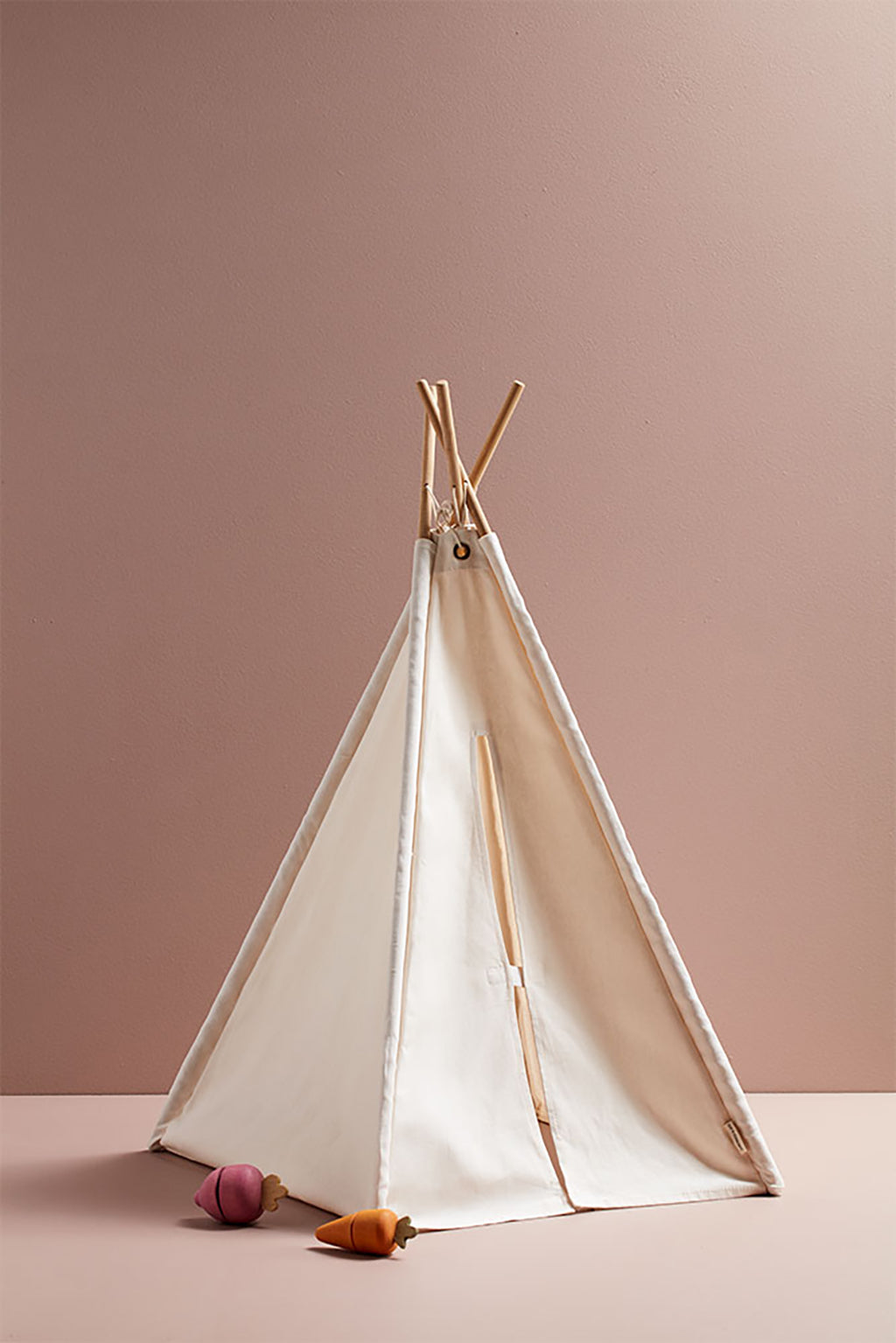 Kids Concept Mini Tipi Tent - Off White