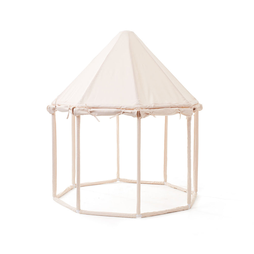 Kids Concept Pavilion Play Tent - Off White - 4