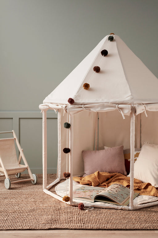 Kids Concept Pavilion Play Tent - Off White - 5