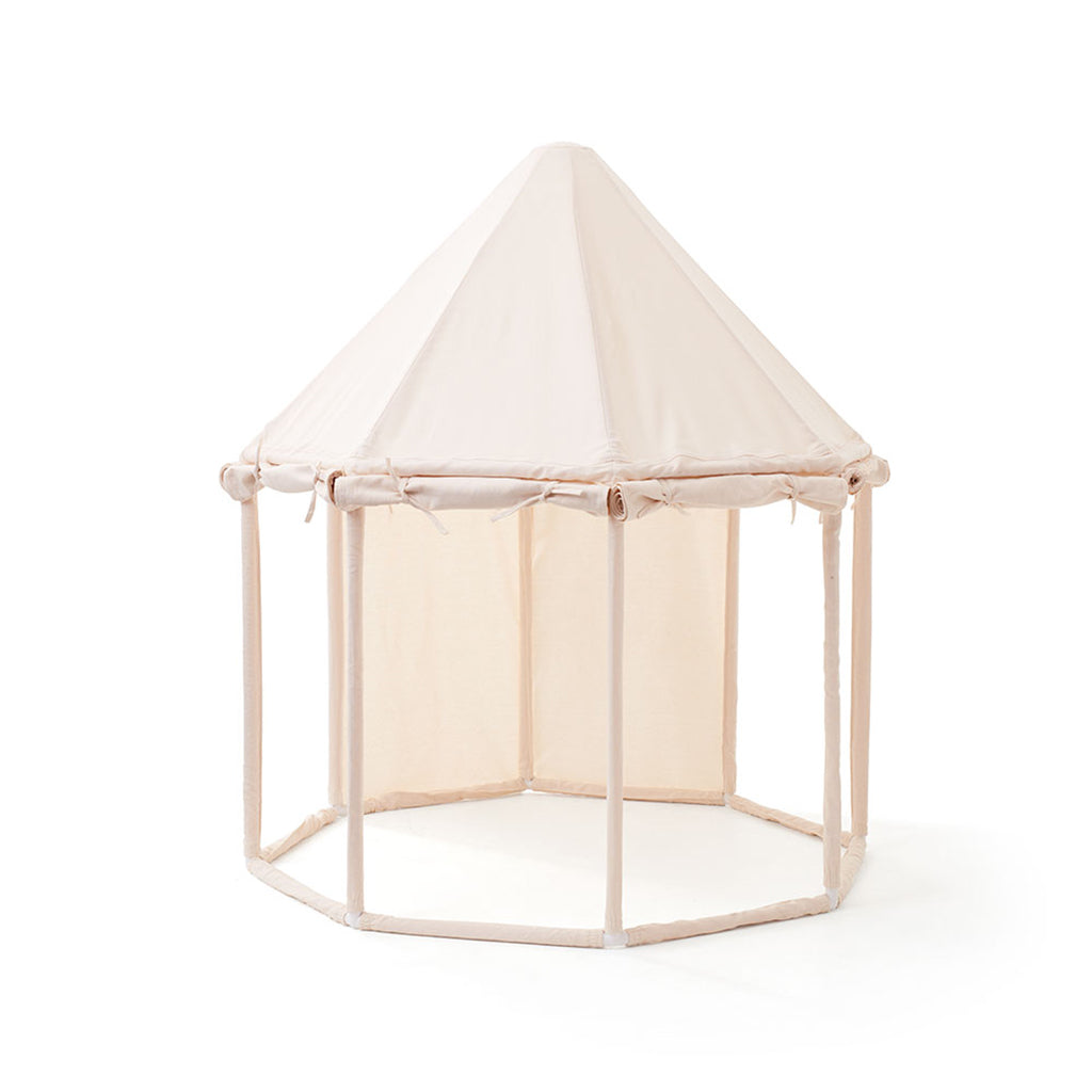Kids Concept Pavilion Play Tent - Off White - 3