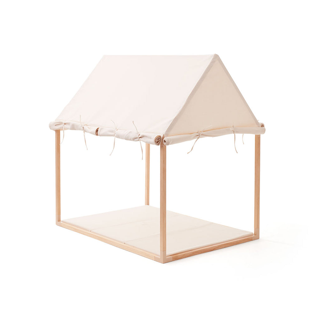 Kids Concept Play House Tent - Off White - 4