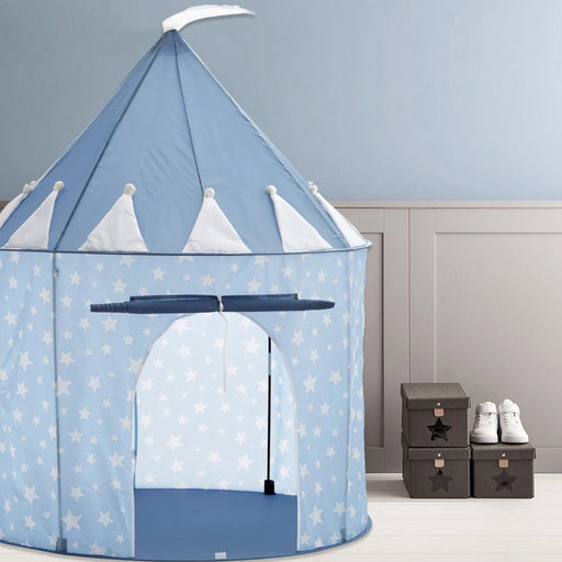 Kids Concept Play Tent - Blue Stars - 2