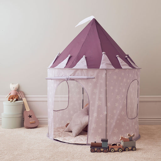 Kids Concept Play Tent - Lilac Star - 2