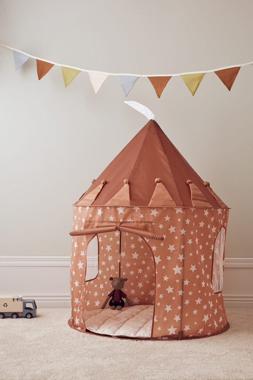Kids Concept Play Tent - Rust Star - 2