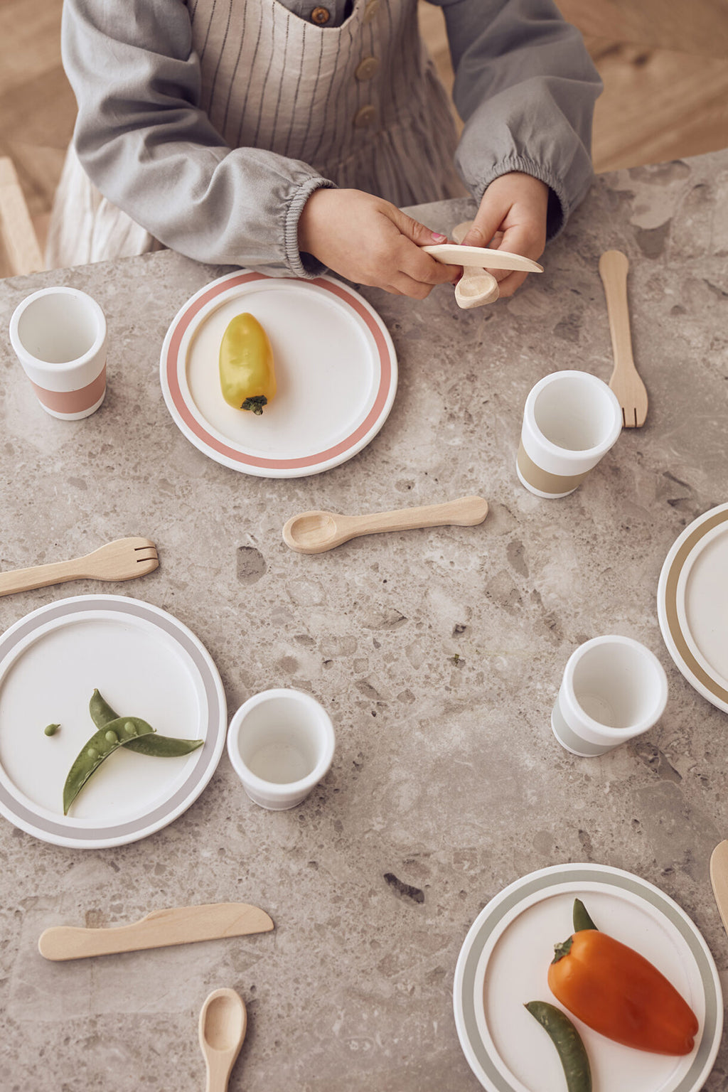 Kids Concept Tableware Play Set - 4