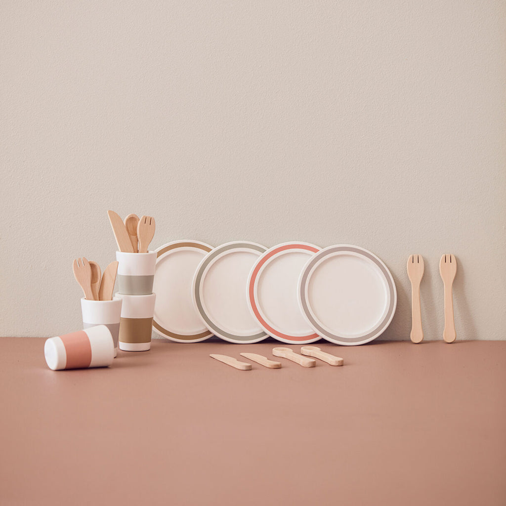 Kids Concept Tableware Play Set - 2
