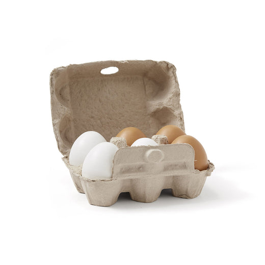 Kids Concept Bistro Wooden Eggs (Set of 6) - 1