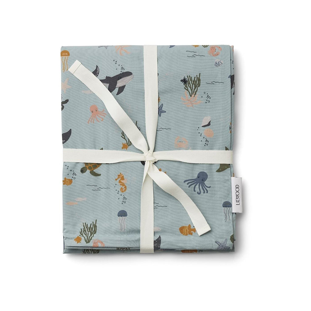 Liewood Carl Single Bed Linen - Sea Creatures - 2