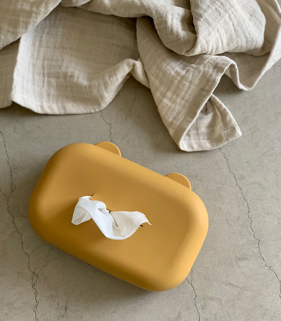 Liewood Emi Wet Wipes Cover - Mustard - 4