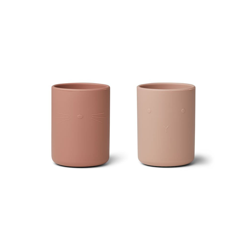 Liewood Ethan Cup 2 Pack - Rose Mix - 1