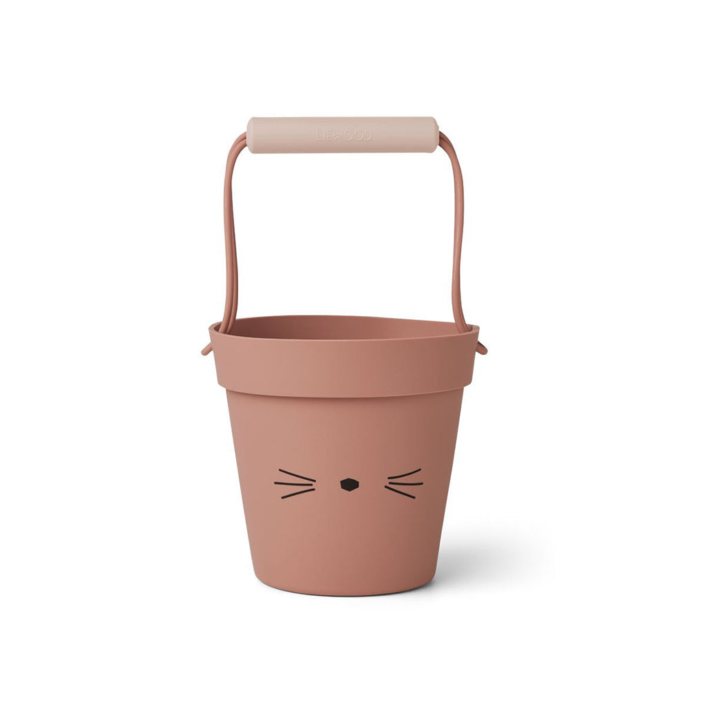 Liewood Linda Bucket - Cat Dark Rose