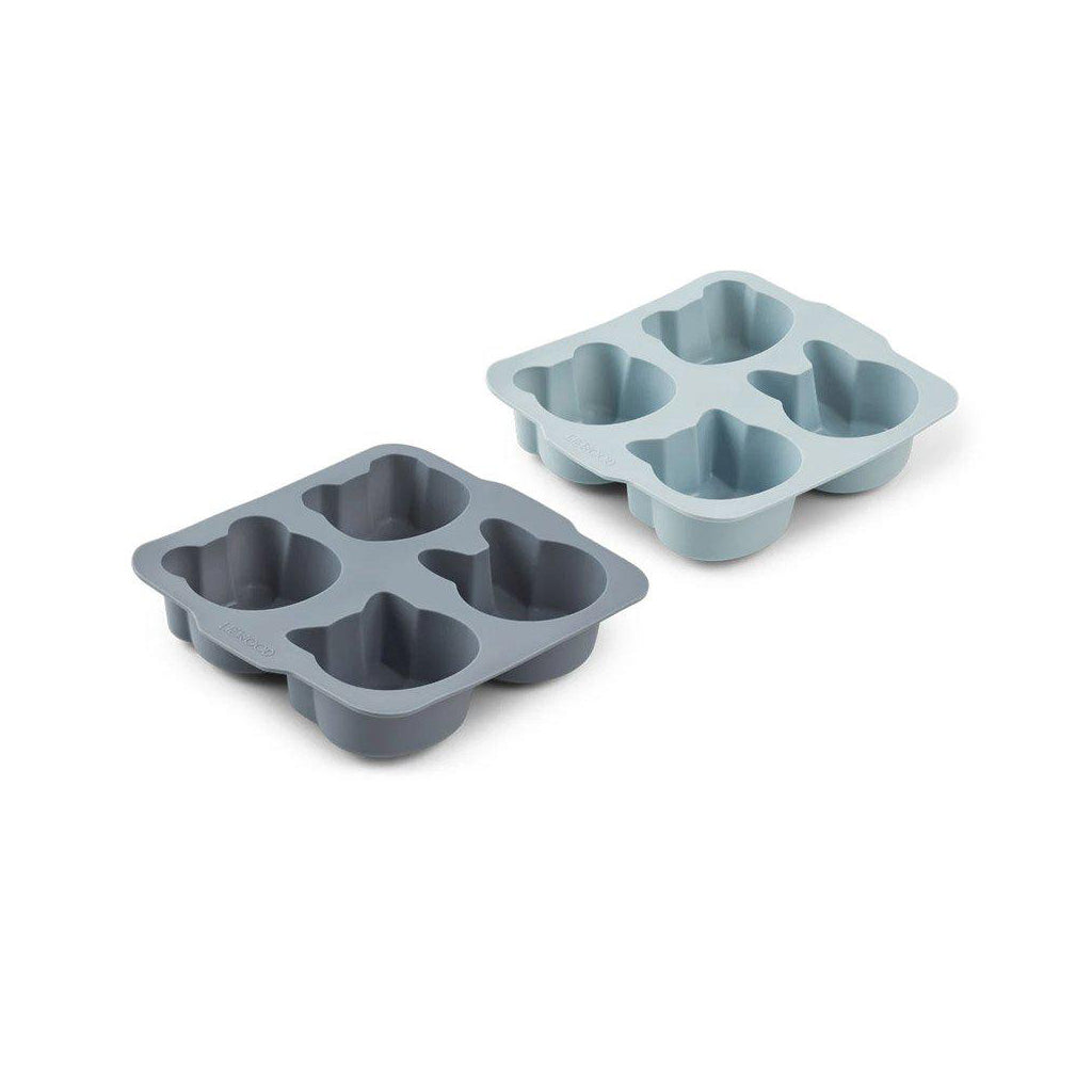 Liewood Mariam Cake Pan - 2 Pack Blue Mix - 1