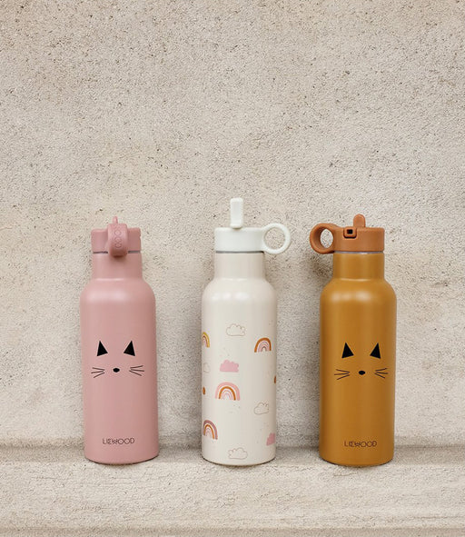 Liewood Neo Water bottle - Cat Rose - 2