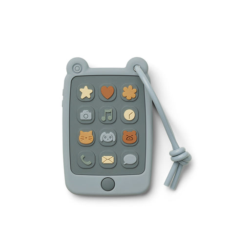 Liewood Thomas Toy Mobile Phone - Sea Blue - 1