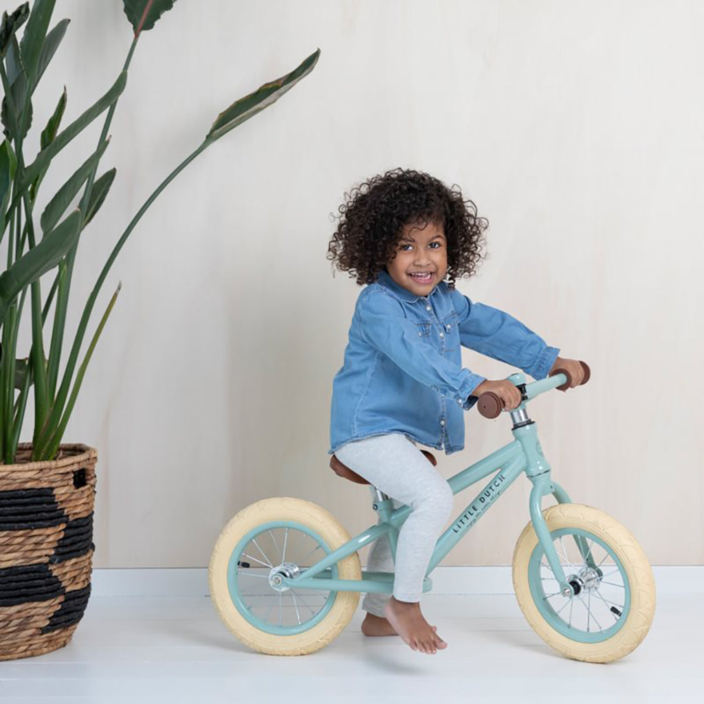 Little Dutch Balance Bike - Mint -3