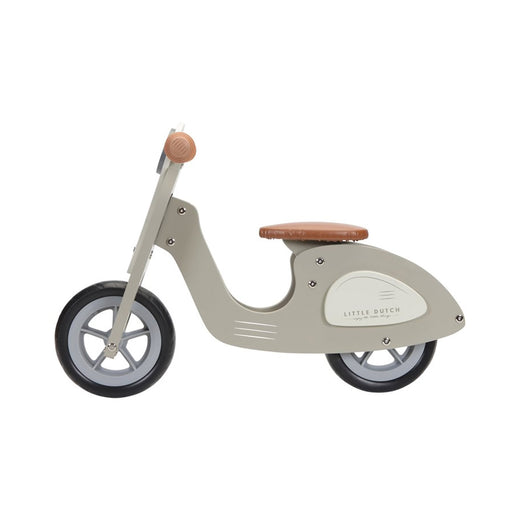 Little Dutch Balance Bike Scooter - Olive - 1
