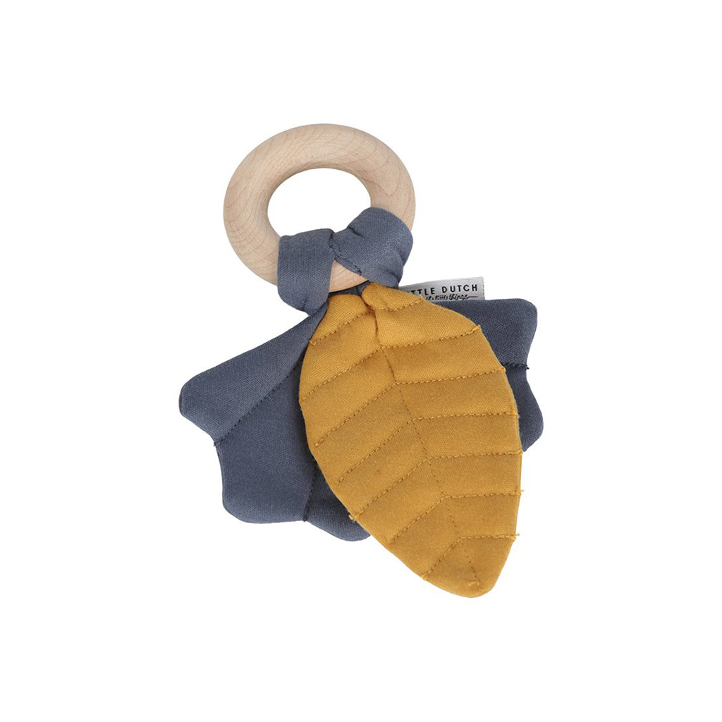 Little Dutch Crinkle Toy Leaves Pure & Nature - Blue - 1