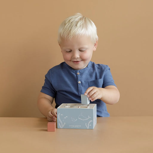 Little Dutch Shape Sorter - Blue - 2