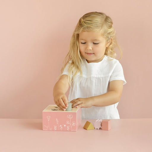 Little Dutch Shape Sorter - Pink - 2