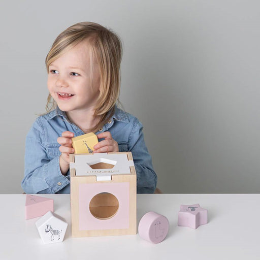 Little Dutch Zoo Shape Sorter - Pink - 2