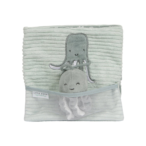 Little Dutch Soft Activity Book - Ocean Mint - 1