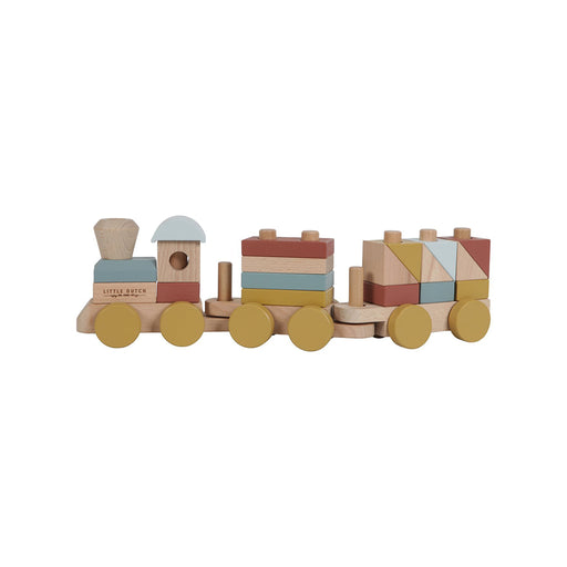 Little Dutch Stacking Train -Pure & Nature