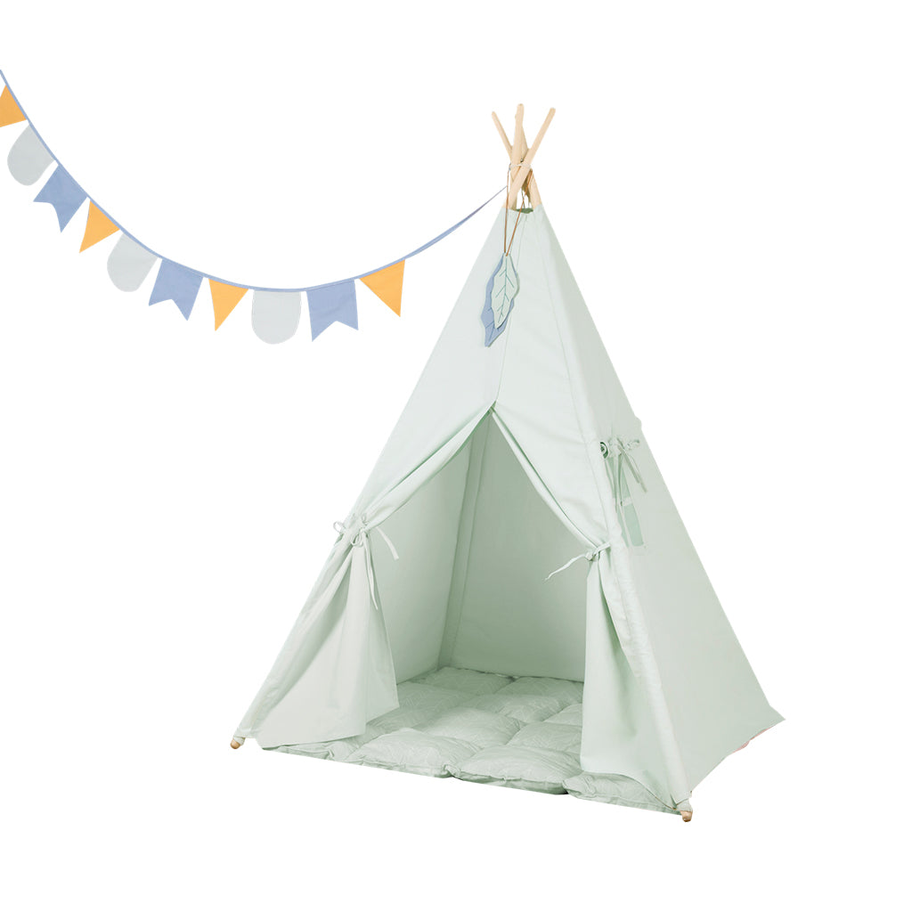 Little Dutch Teepee Tent - Mint - 1