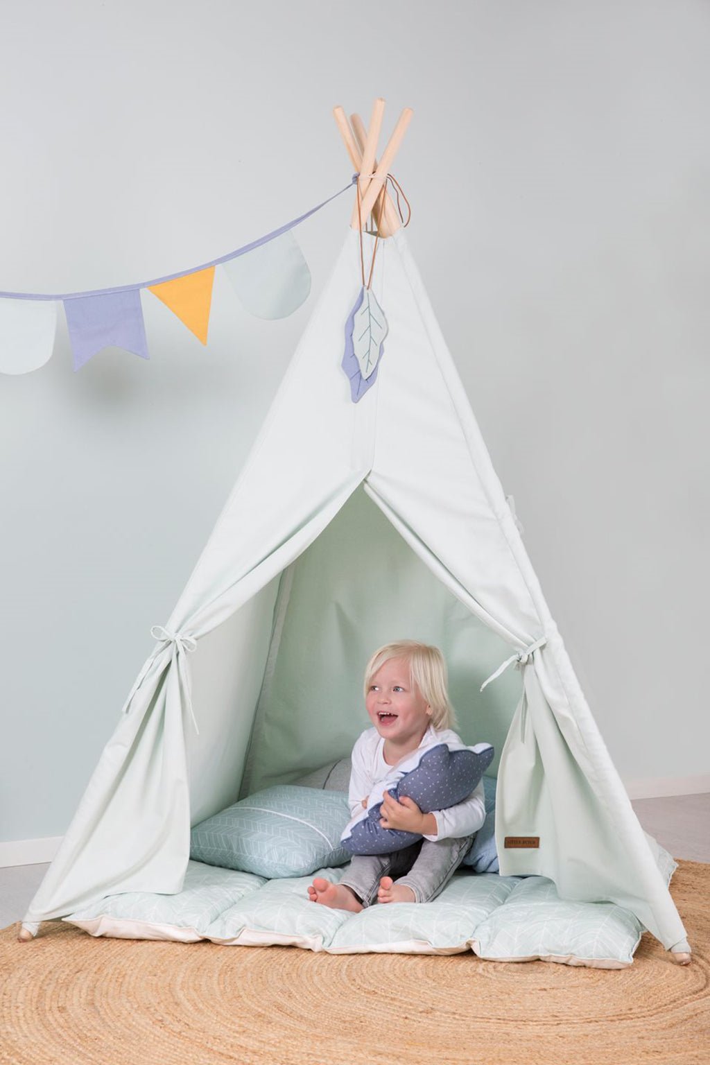 Little Dutch Teepee Tent - Mint - 2