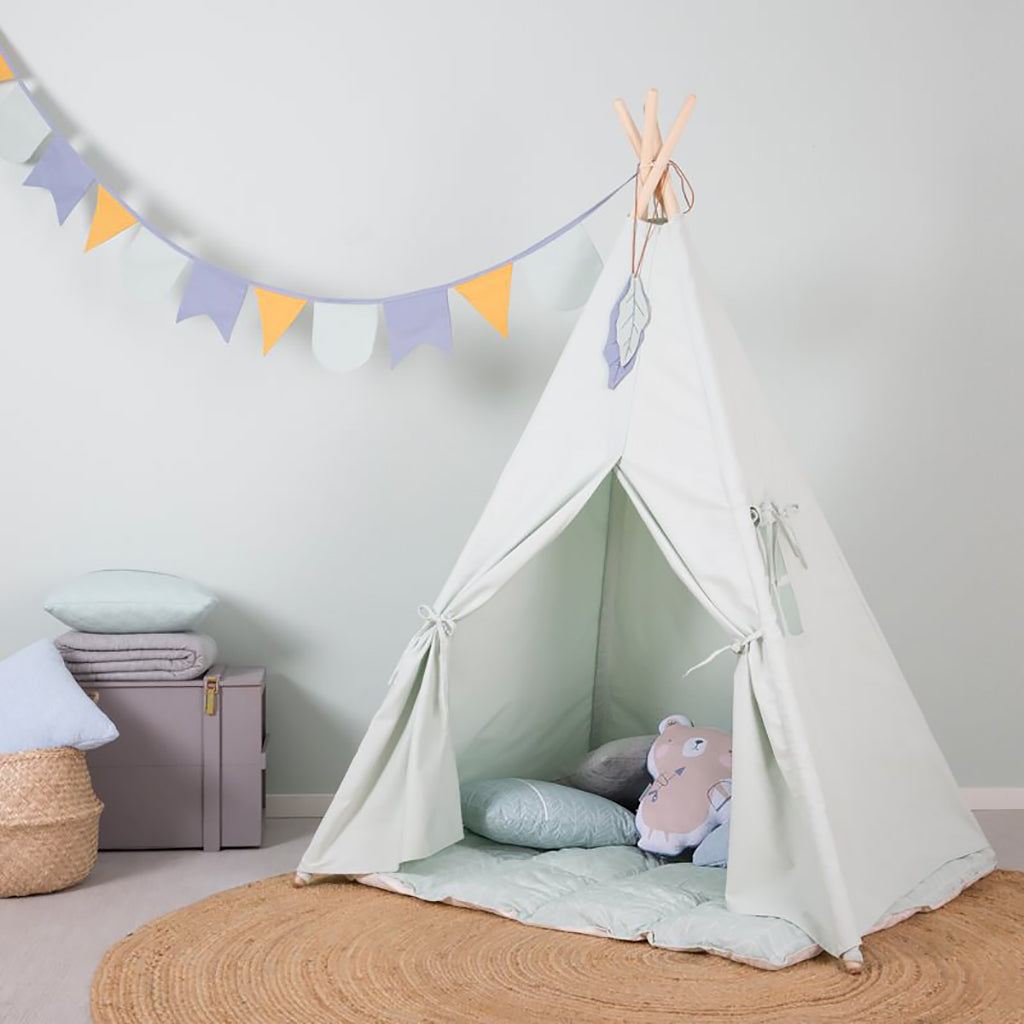 Little Dutch Teepee Tent - Mint - 3