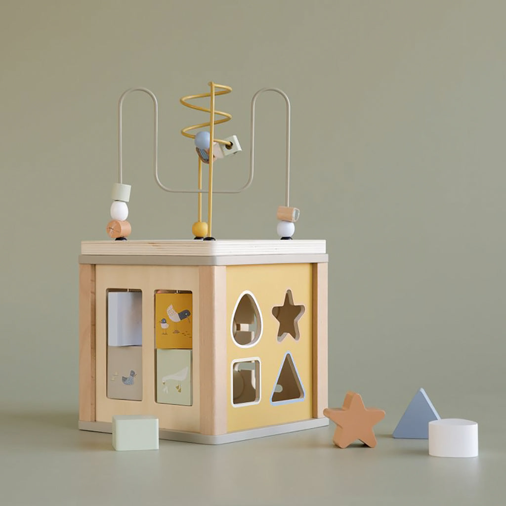 Little Dutch Activity Cube - Little Goose - 2