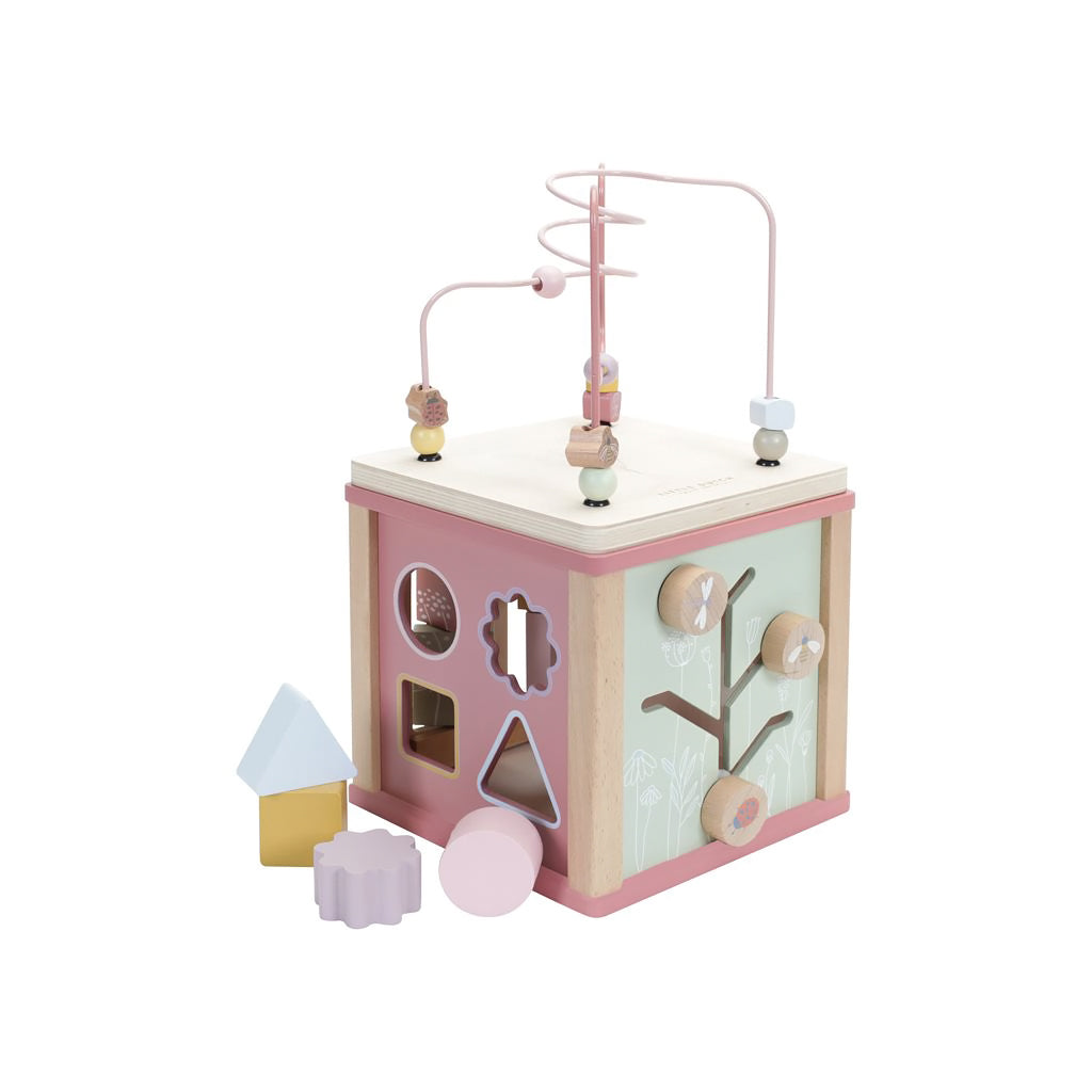 Little Dutch Activity Cube - Wild Flower - 3