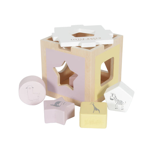 Little Dutch Zoo Shape Sorter - Pink - 1