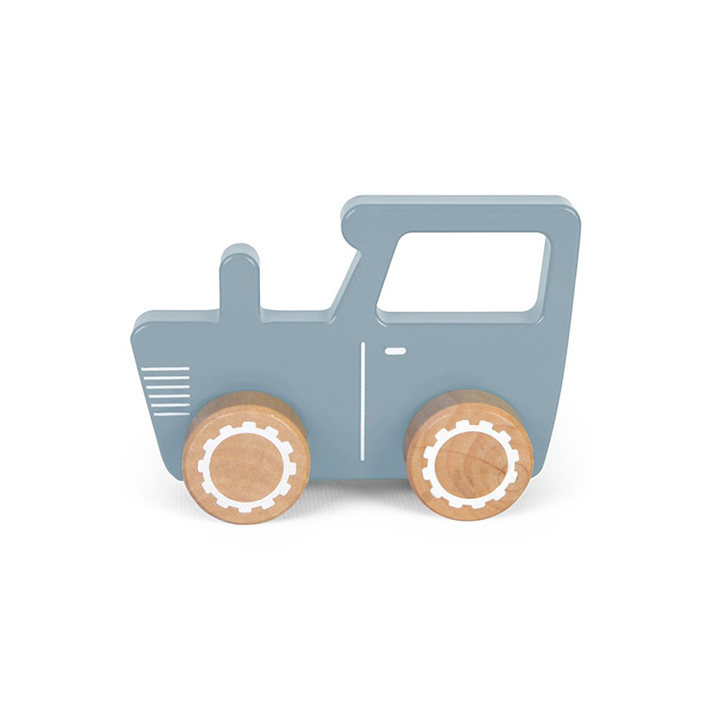 Little Dutch Wooden Toy Tractor - 1