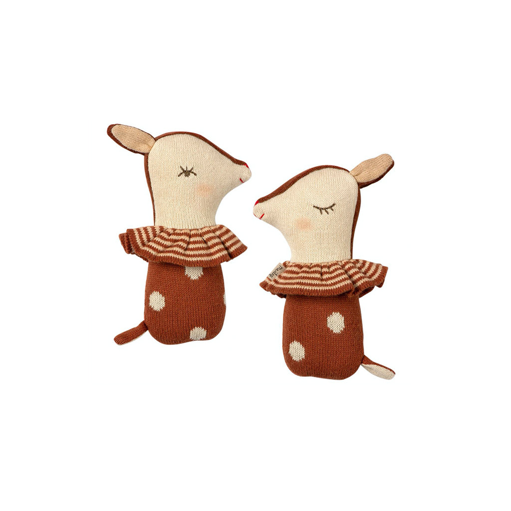 Maileg Bambi Rattle - Rusty - 1