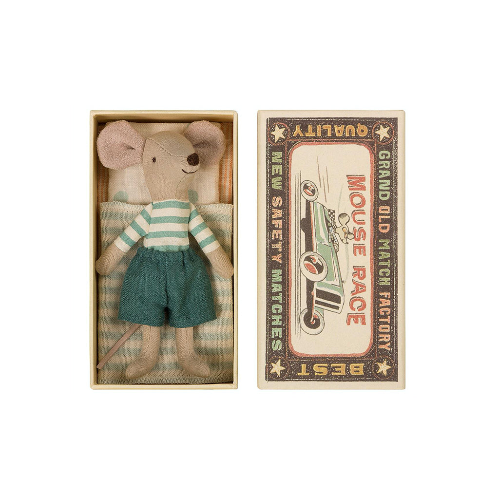 Maileg Big Brother Mouse In MatchBox - 1
