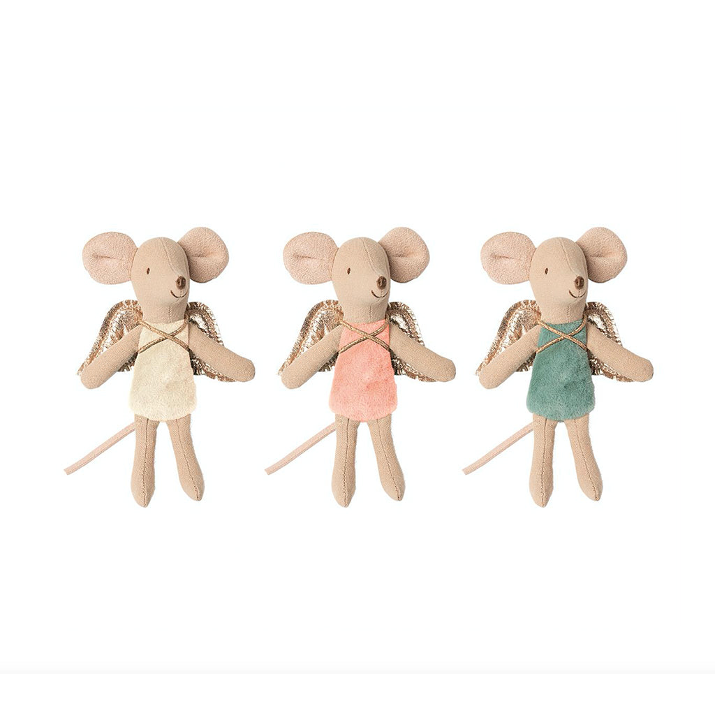 Maileg Fairy Mouse, Little Sister Mouse - 1