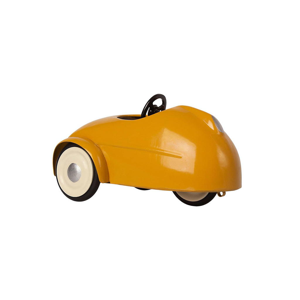 Maileg Mouse Car with Garage - Yellow - 2