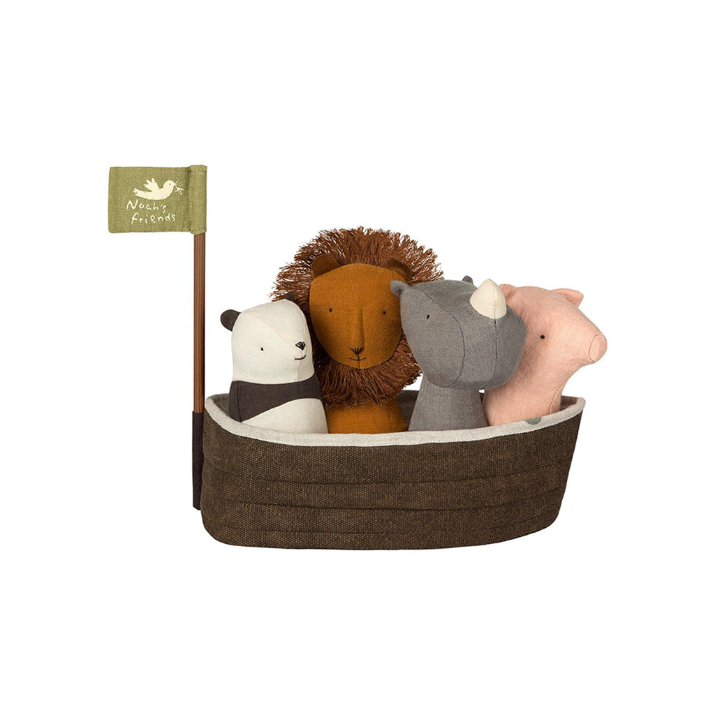 Maileg Noah's Ark with 4 Rattles - 1