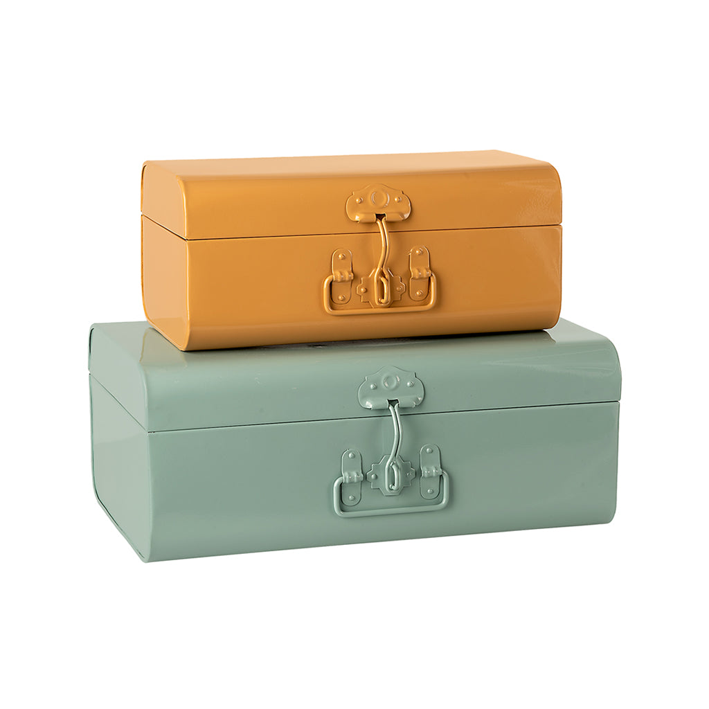 Maileg Storage Suitcases - Set of 2 - 1
