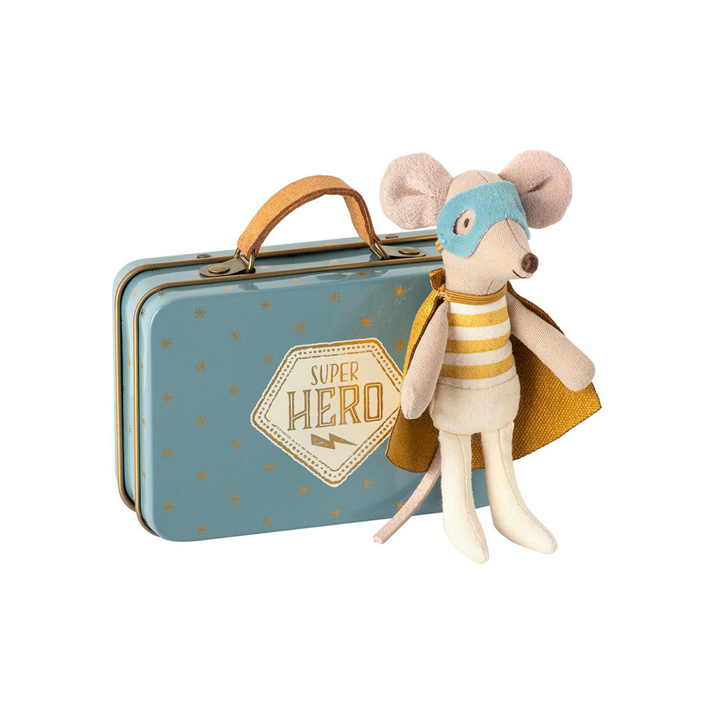 Maileg Super Hero  Little Bother In Suitcase - 1