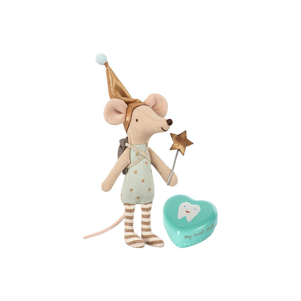 Maileg Tooth Fairy Big Brother Mouse With Box - 2