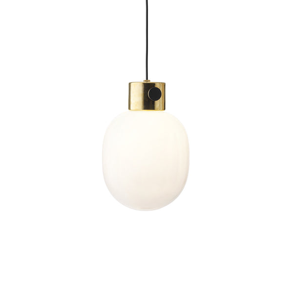 Menu JWDA Brass Pendant Light