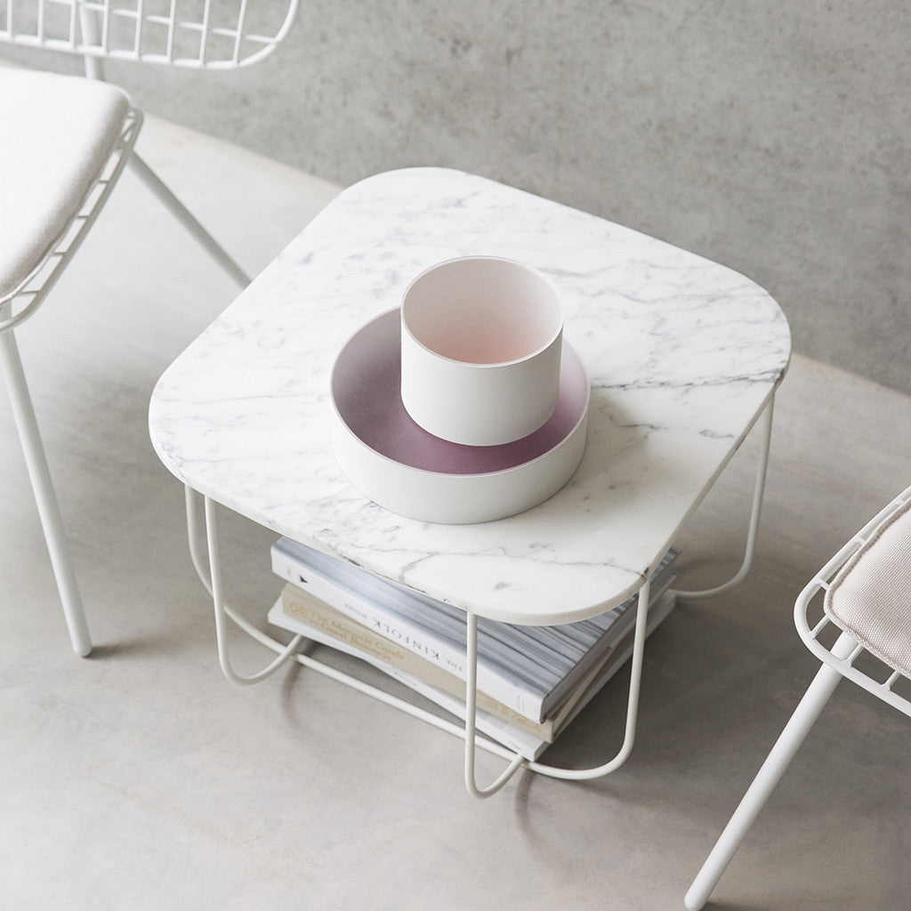 Menu FUWL Cage Table White /White Marble - Is To Me - 3